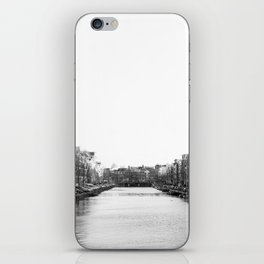 canal in Amsterdam iPhone Skin