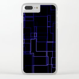 Neon is the Future Clear iPhone Case