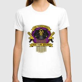 TPA Crest - True Funk Soldier (Reverend design #1) T-shirt