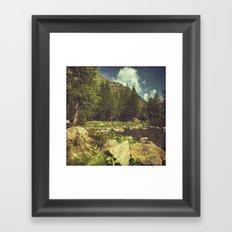 Alpine Idyll Framed Art Print