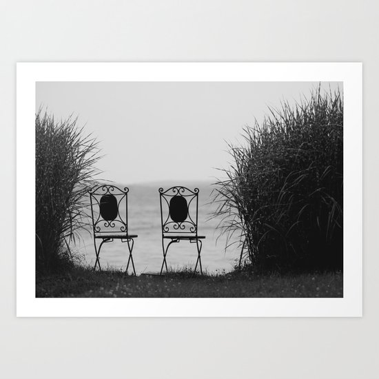 everybody left. Art Print
