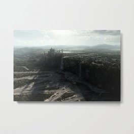 Star Wars Naboo Spaceport digital art Metal Print