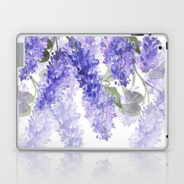 Purple Wisteria Flowers Laptop & iPad Skin