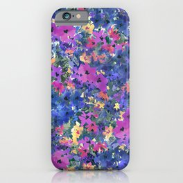 French Red Violet iPhone Case