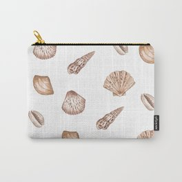 Seashell Pattern Illustration Carry-All Pouch