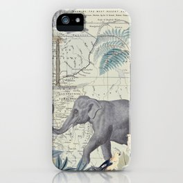 The Journey of the Elephant iPhone Case