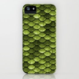 Mermaid Scales | Green with Envy iPhone Case