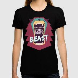 Unleash Your Inner Beast T-shirt