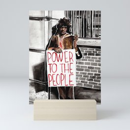 Marsha P. Johnson - POWER TO THE PEOPLE Mini Art Print