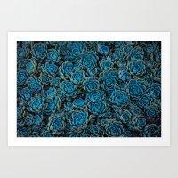 succulents Art Prints featuring Succulents by Kim Bajorek