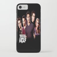 teen wolf iPhone & iPod Cases featuring teen wolf by kikabarros