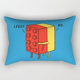 Le go! No Rectangular Pillow