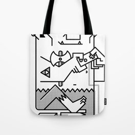 Warrior Tote Bag