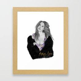 Alessandra Framed Art Print
