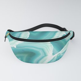 Geodes in Turquoise Crystal Fanny Pack