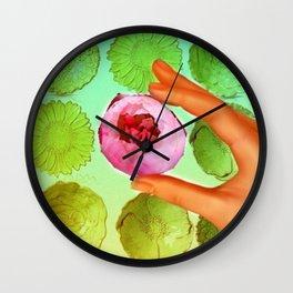 Flower Pop Wall Clock