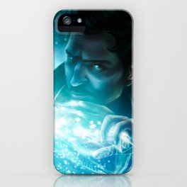 Dorian and Solas iPhone Case