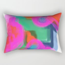 Dreamed Garden 5 Rectangular Pillow