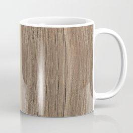 wood colored yellow Coffee Mug