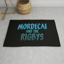 Mordecai and the Rigbys Rug