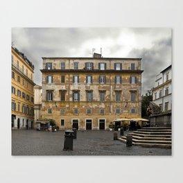 Untitled (Piazza Santa Maria in Trastevere) Canvas Print