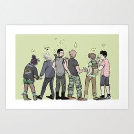 TRC Art Print