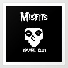 The Bovine Club Art Print