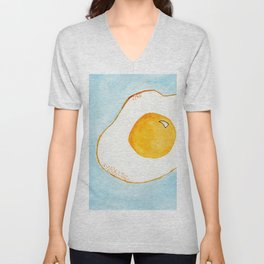 Put An Egg On It! Unisex V-Neck