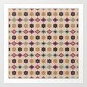 Retro pattern . Pastel . by fuzzyfox85
