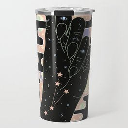 Aries - Zodiac Illustration Travel Mug