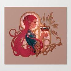 Enby royalty Canvas Print