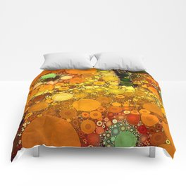 Sunset Poppies Comforters