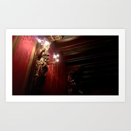 Theater at the Castle Art Print