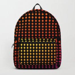 Dark Chromo Diamonds hot Backpack
