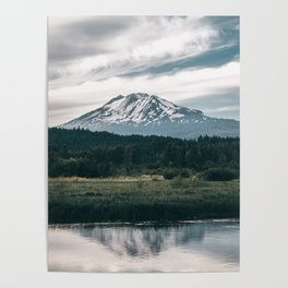 Mount Adams Reflections Poster