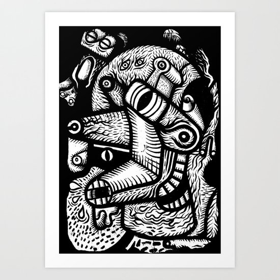 Dali #1 - the print Art Print
