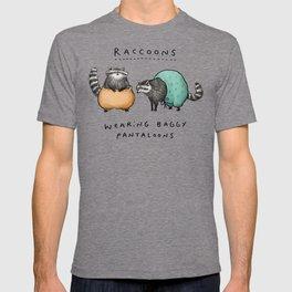 Raccoons Wearing Baggy Pantaloons T-shirt