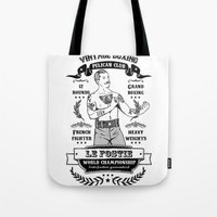 boxing Tote Bags featuring Vintage Boxing by T-SIR | Oscar Postigo