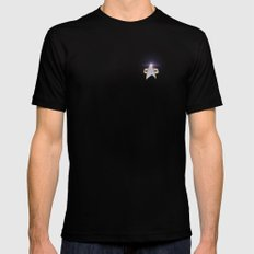Star Trek communicator Mens Fitted Tee Black MEDIUM