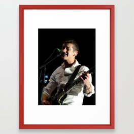 Alex Turner // Arctic Monkeys Framed Art Print