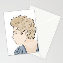 Luke - watercolor Stationery Cards