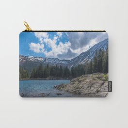 Island in the Alps Carry-All Pouch