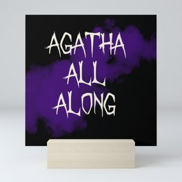 agatha all along Mini Art Print