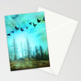 Life after Fire Stationery Cards