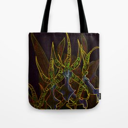 Star Orchids Tote Bag