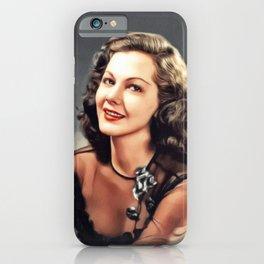 Maria Montez, Vintage Actress iPhone Case
