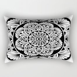 Mandala flower Rectangular Pillow