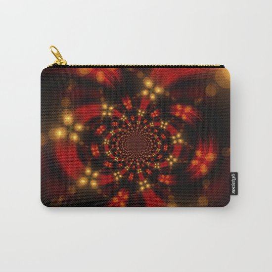 Christmas-Fractal Carry-All Pouch
