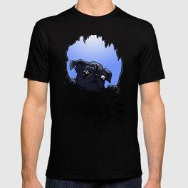 a Pug's life (dark) T-shirt