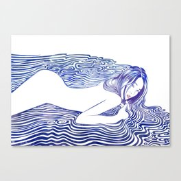 Water Nymph XXI Canvas Print